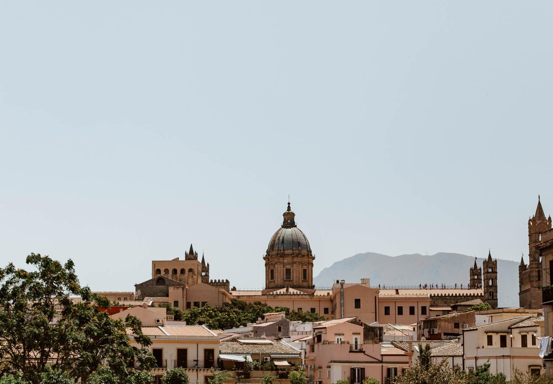 巴勒莫西西里岛风景