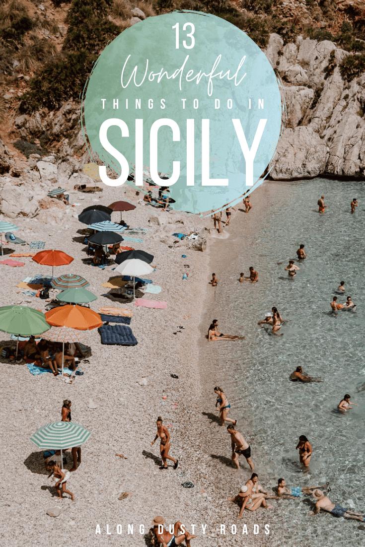 西西里岛有太多的东西要探索。从美丽的海滩,迷人的城镇,户外探险和所有令人惊叹的食物!以下是在西西里岛做的13件美妙的事情 西西里指南 意大利西西里岛 意大利旅游 西西里岛#意大利#夏季#假日