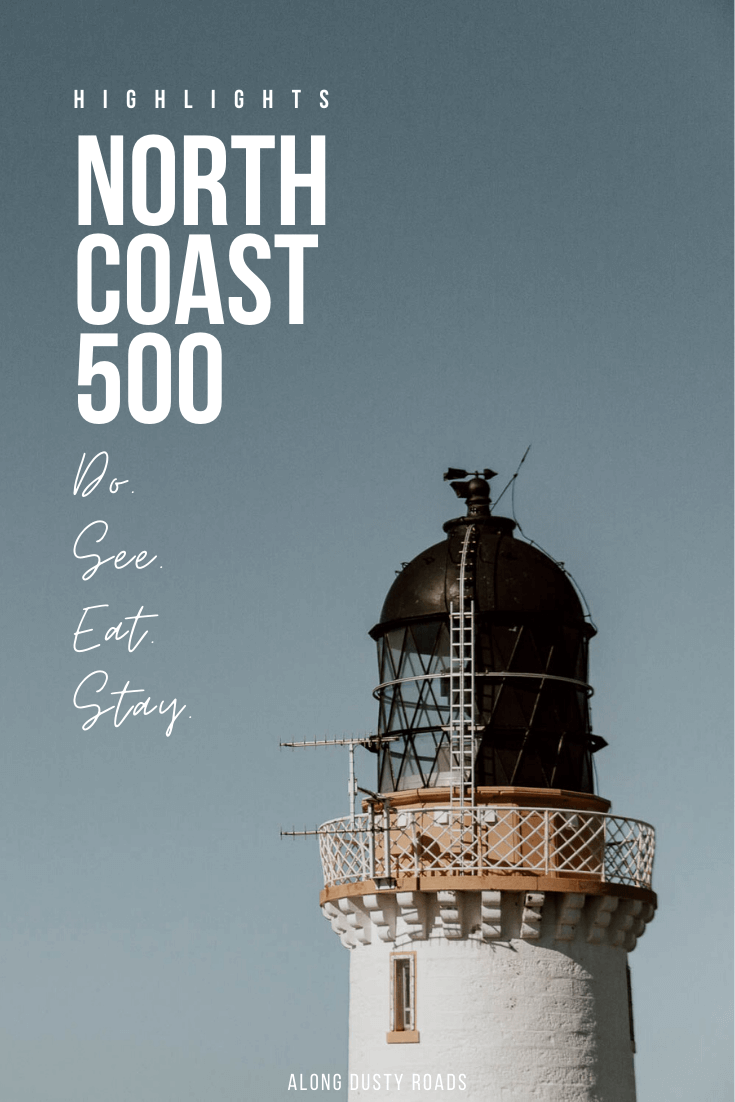这是一本充满北海岸500强亮点的指南,包括沿着这条著名的苏格兰公路旅行的所有最佳游览地点、活动地点和住宿地点#NC500#苏格兰#高地#北海岸500#指南#旅游指南