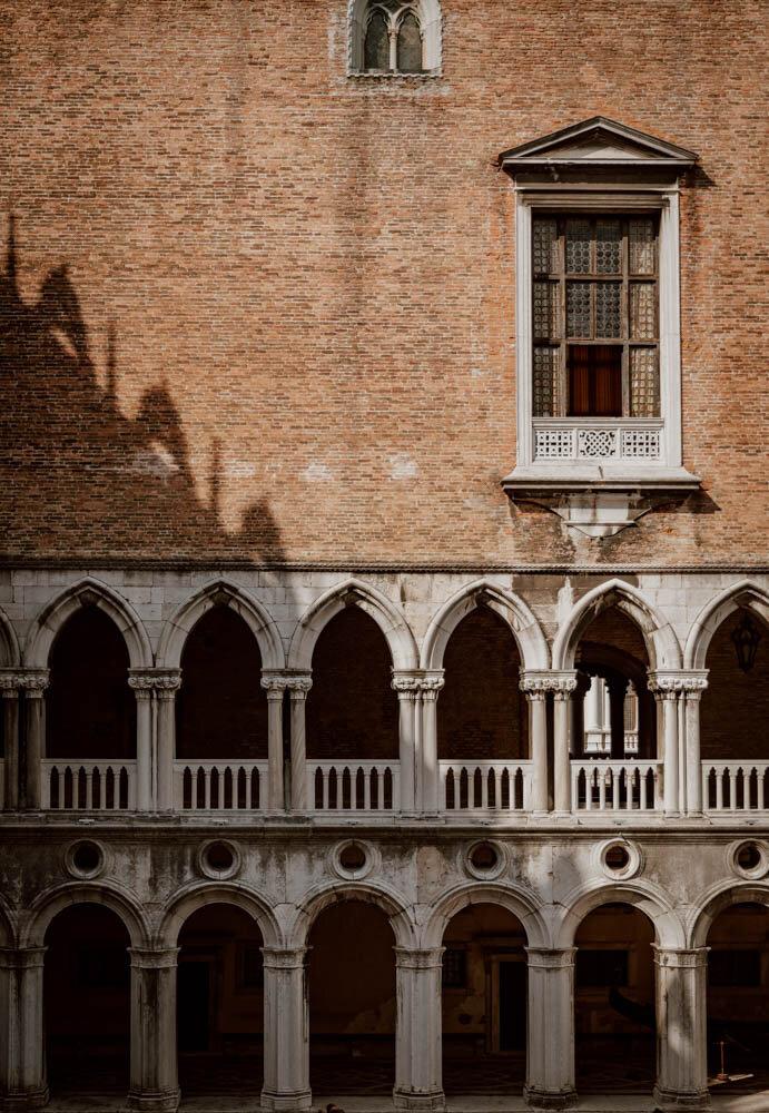 威尼斯的事情 参观公爵宫