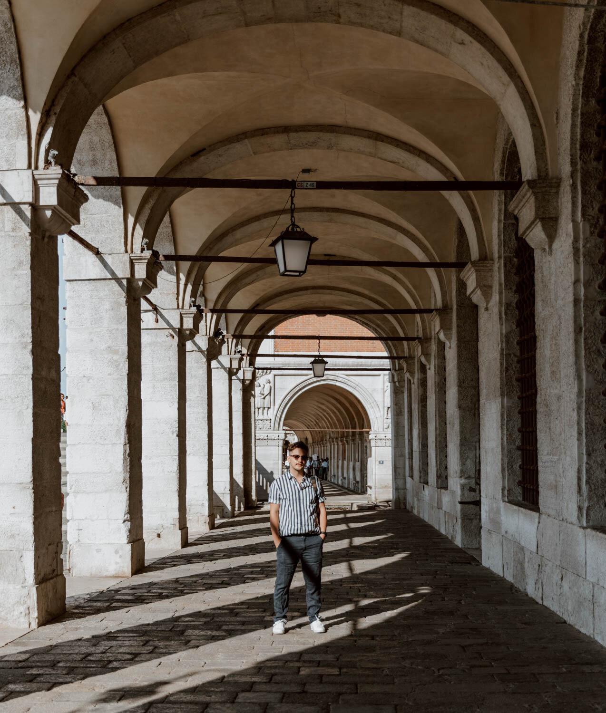 威尼斯圣马可广场的门廊