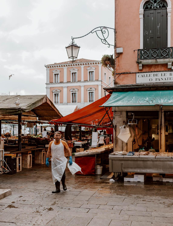 在威尼斯可做的事情参观鱼市