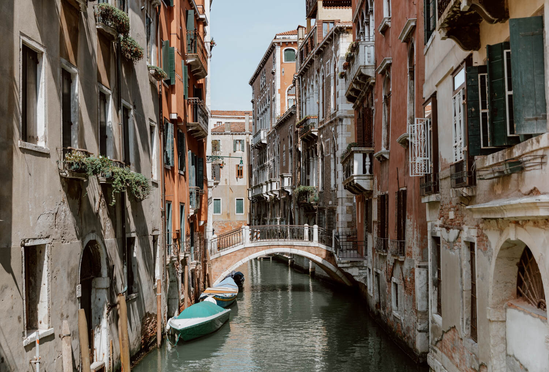 意大利威尼斯的观光桥