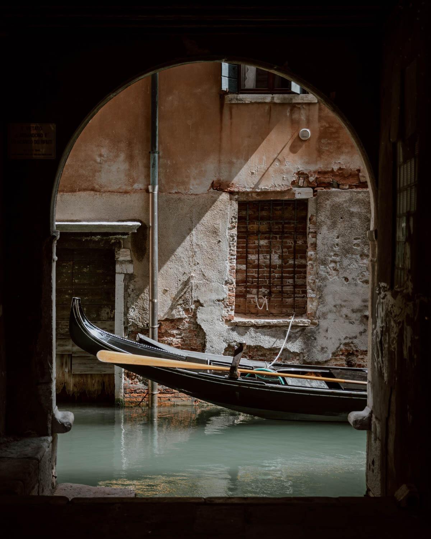 隐藏的运河观威尼斯