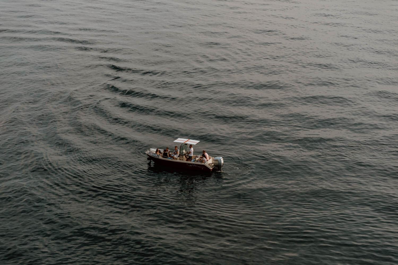 在五岛租船