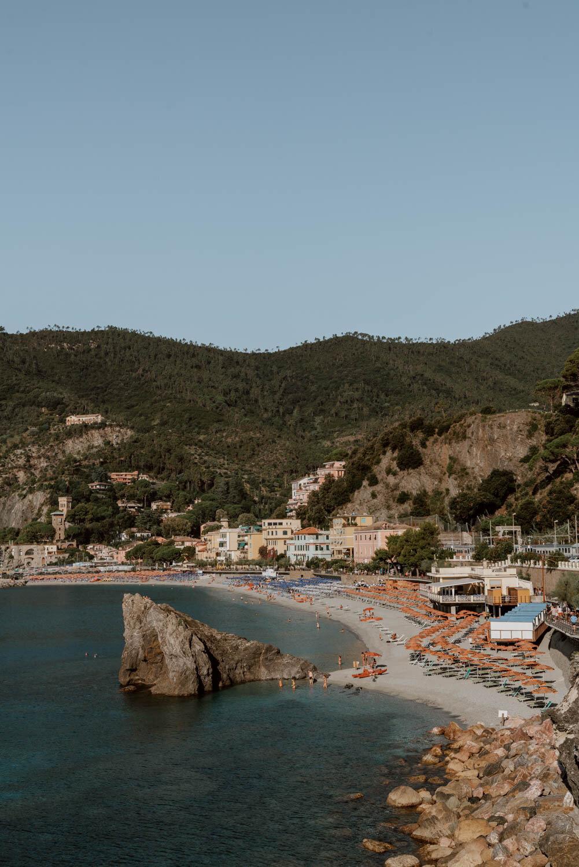 菲吉娜海滩的景色