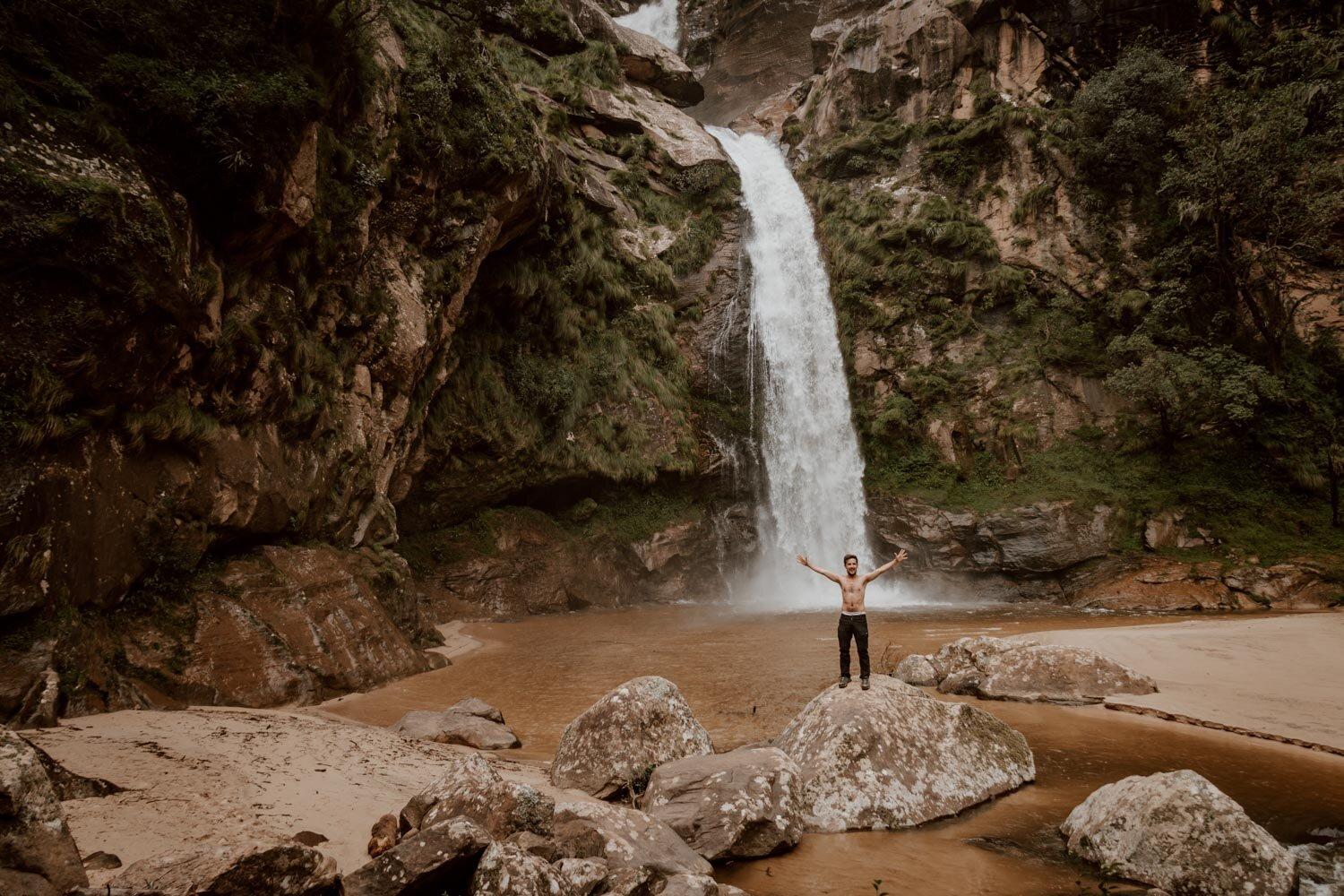 拉帕查瀑布,Samaipata