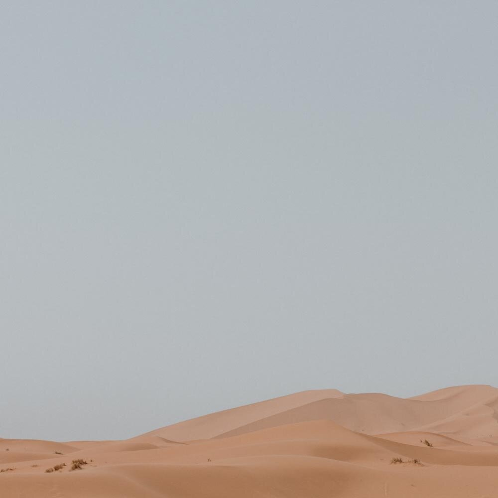 我们在撒哈拉沙漠的夜晚