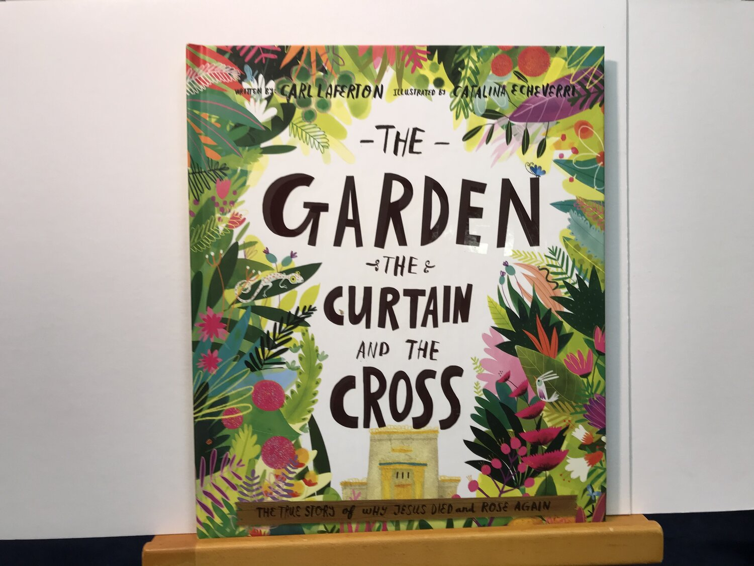 the garden the curtain and the cross bridge books
