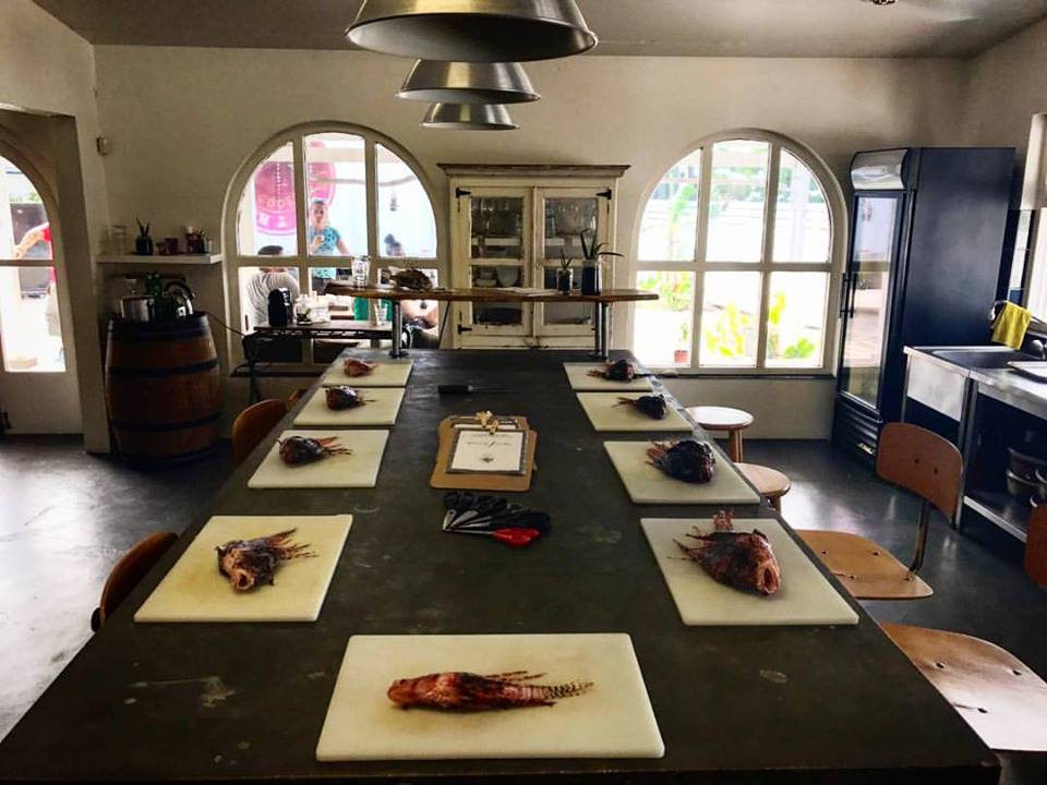 Lionfish cooking class