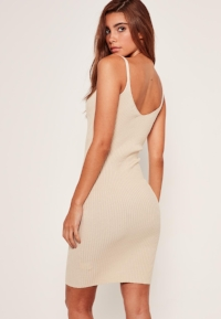 CAMEL-STRAPPY-DRESS