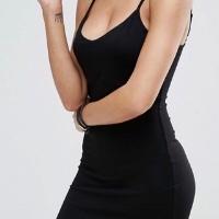 BLACK-CAMI-DRESS