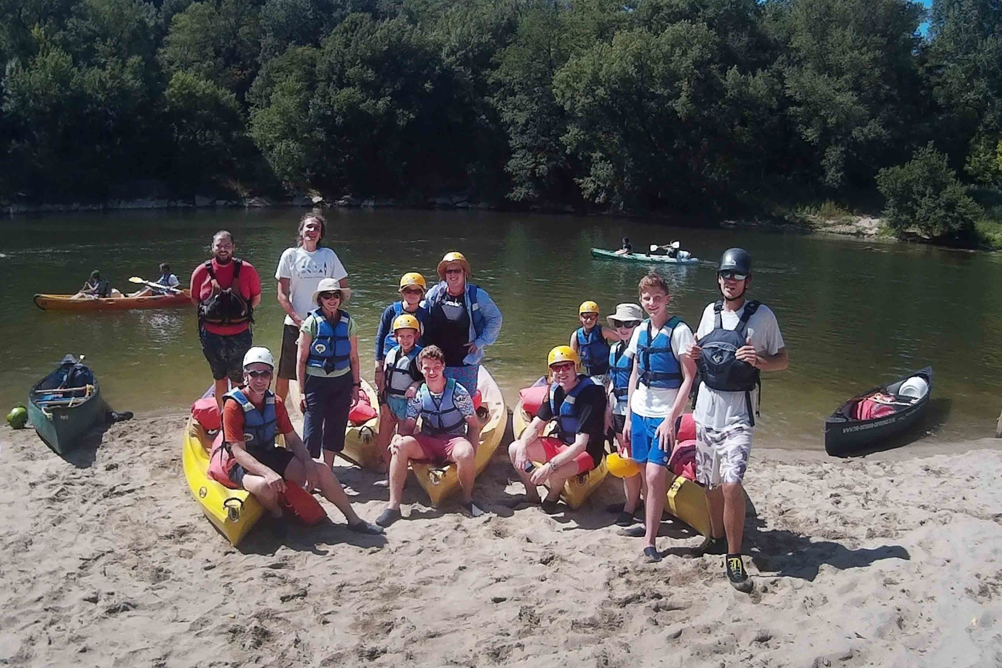 Group photo Ardeche