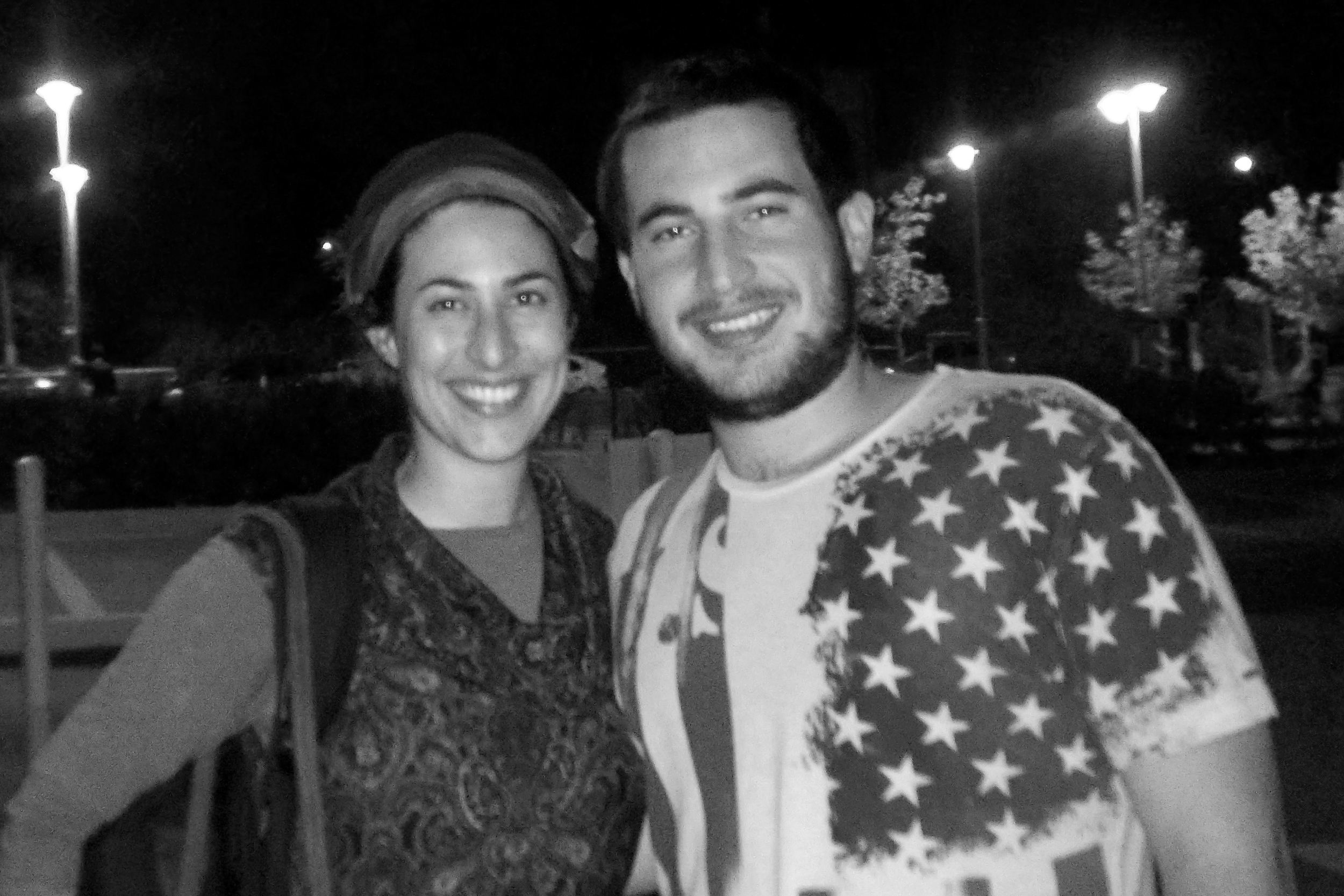 Shiran and her brother, 2010