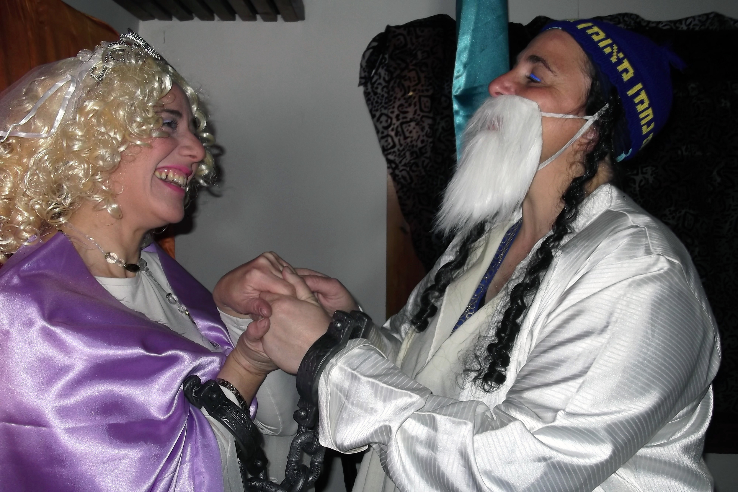 Aderet & Ilana, Purim 2014