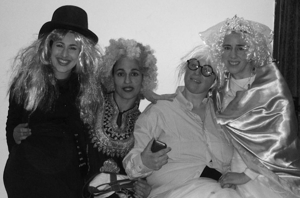ILana, Shiran , Azamra, Aderet, Purim 2014