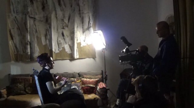 Aderet Ambash , interviewed by TV, Chanel 1, March 2016