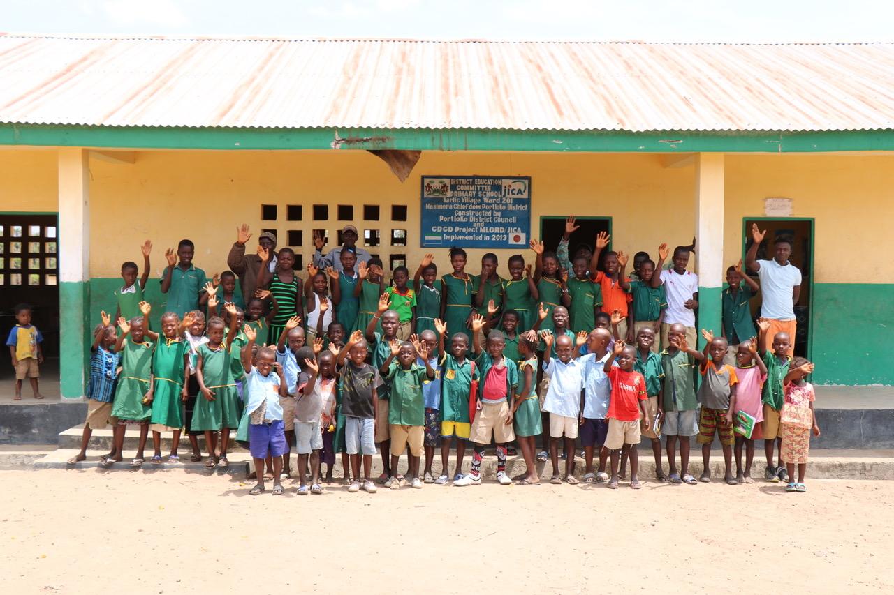 Bombali school, Sierra Leone