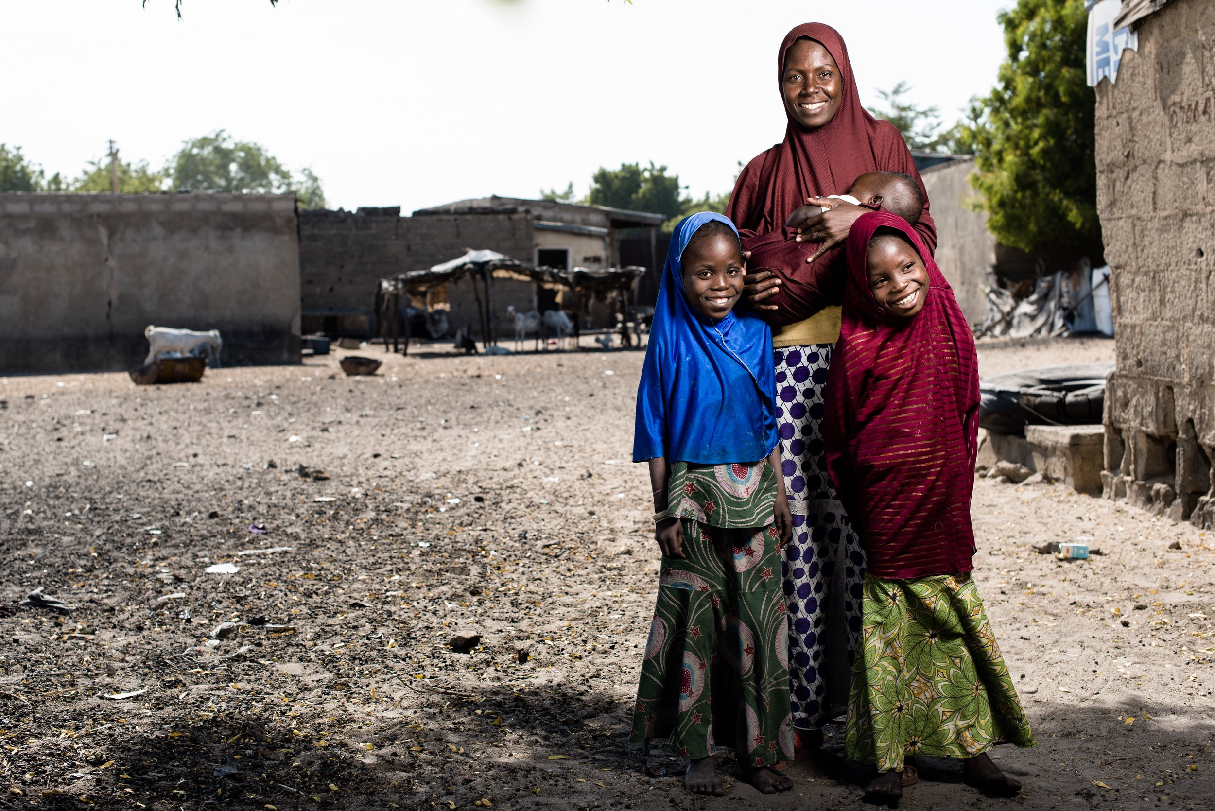 Click here to read stories of our current work to reunite families separated by the insurgency.