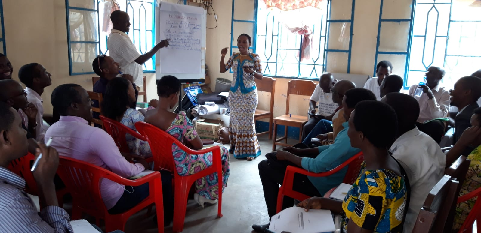 Prior to the launch of Street Child's 'Safer Schools' Programme, staff training was led by EMI's Gender, Rights and Inclusion Team Leader, Sylvie, on topics such as early and forced marriage and gender equality.