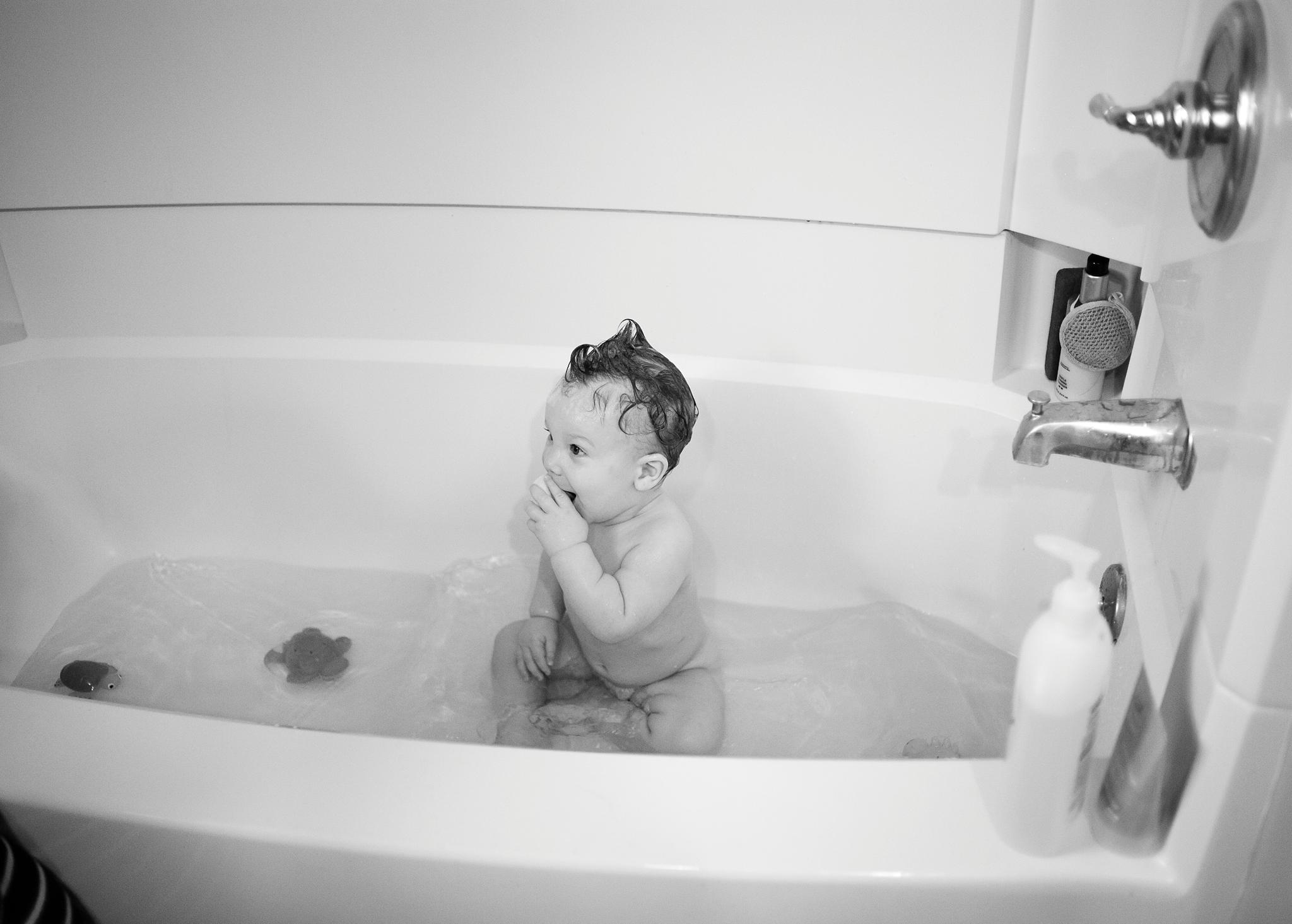We Had Bath Time...