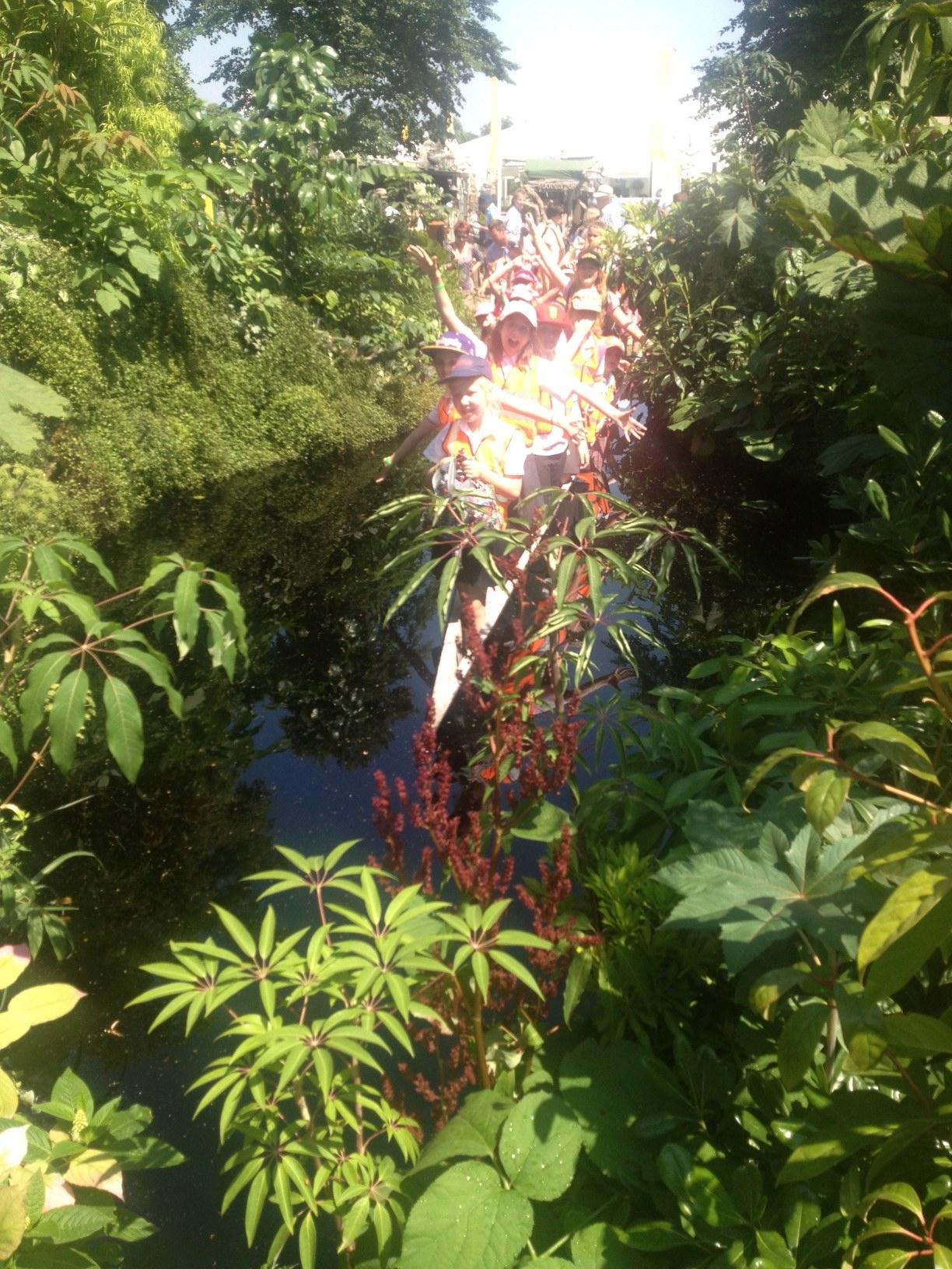 Press day at RHS Hampton Court Palace Flower Show / 2013 / Sophie Walker / A Valley Garden