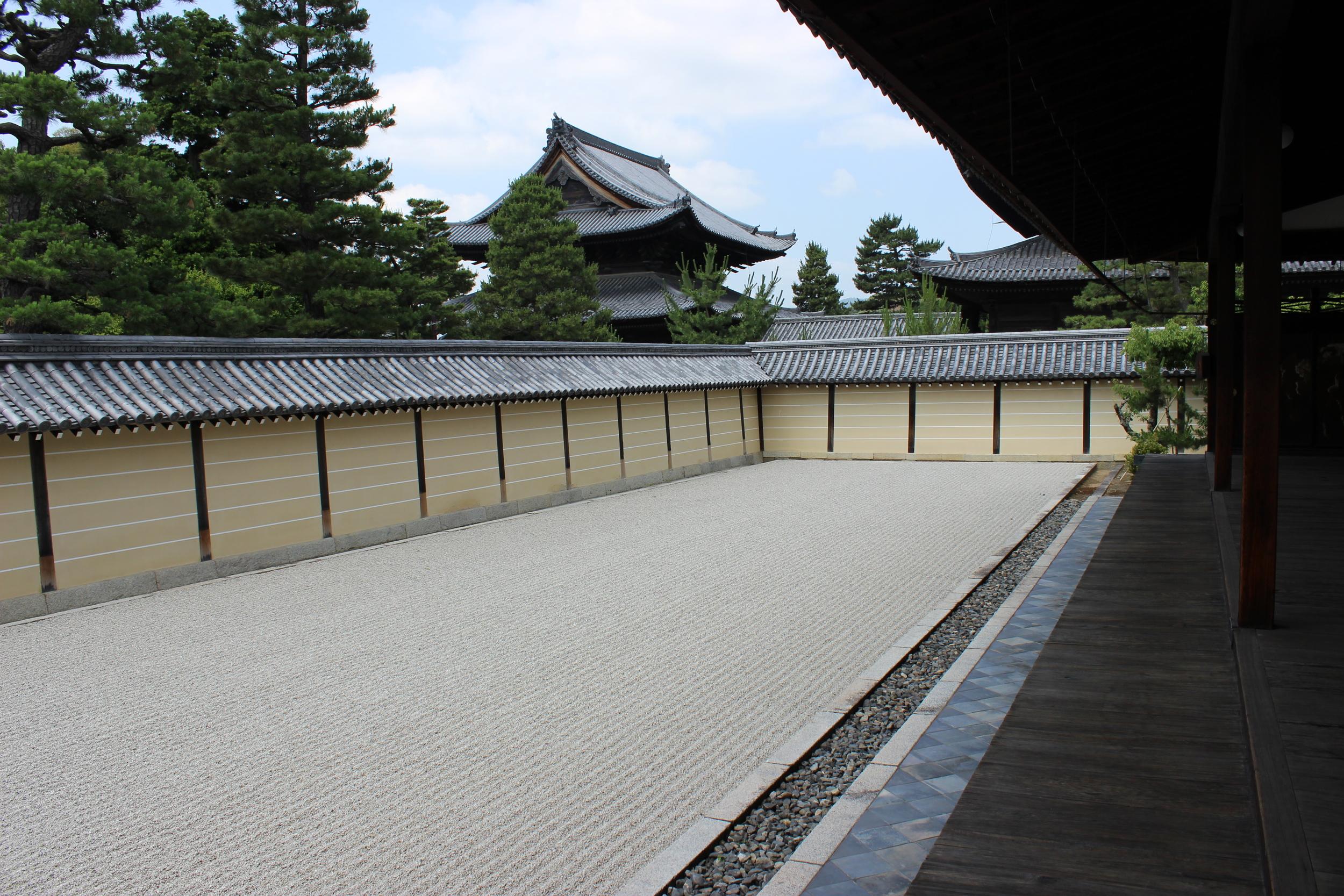 The Void Garden of Tokai-an, Myoshin-ji temple, Kyoto