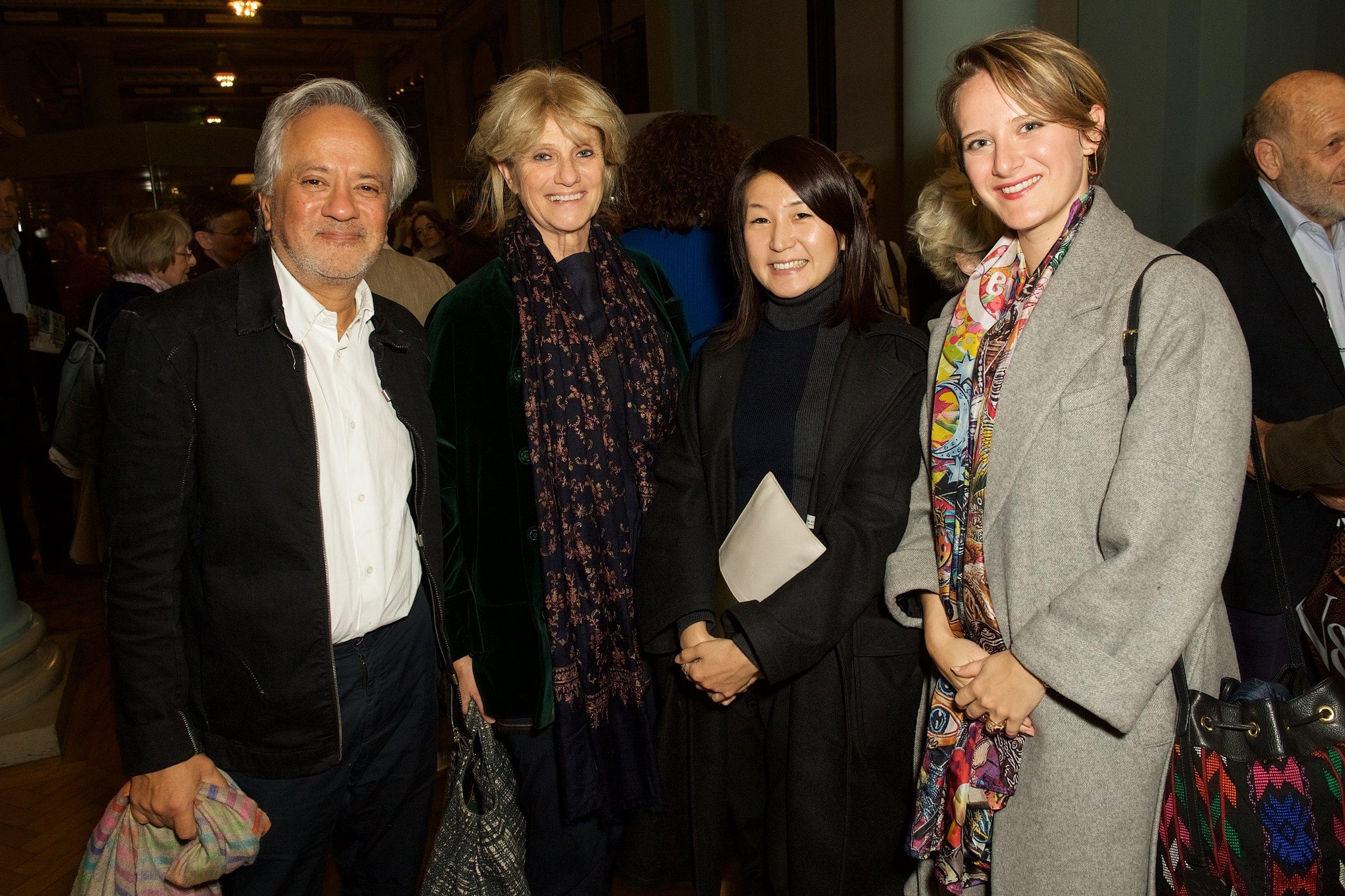 Anish Kapoor, Fausta Eskanazi, Yurika Shiraishi