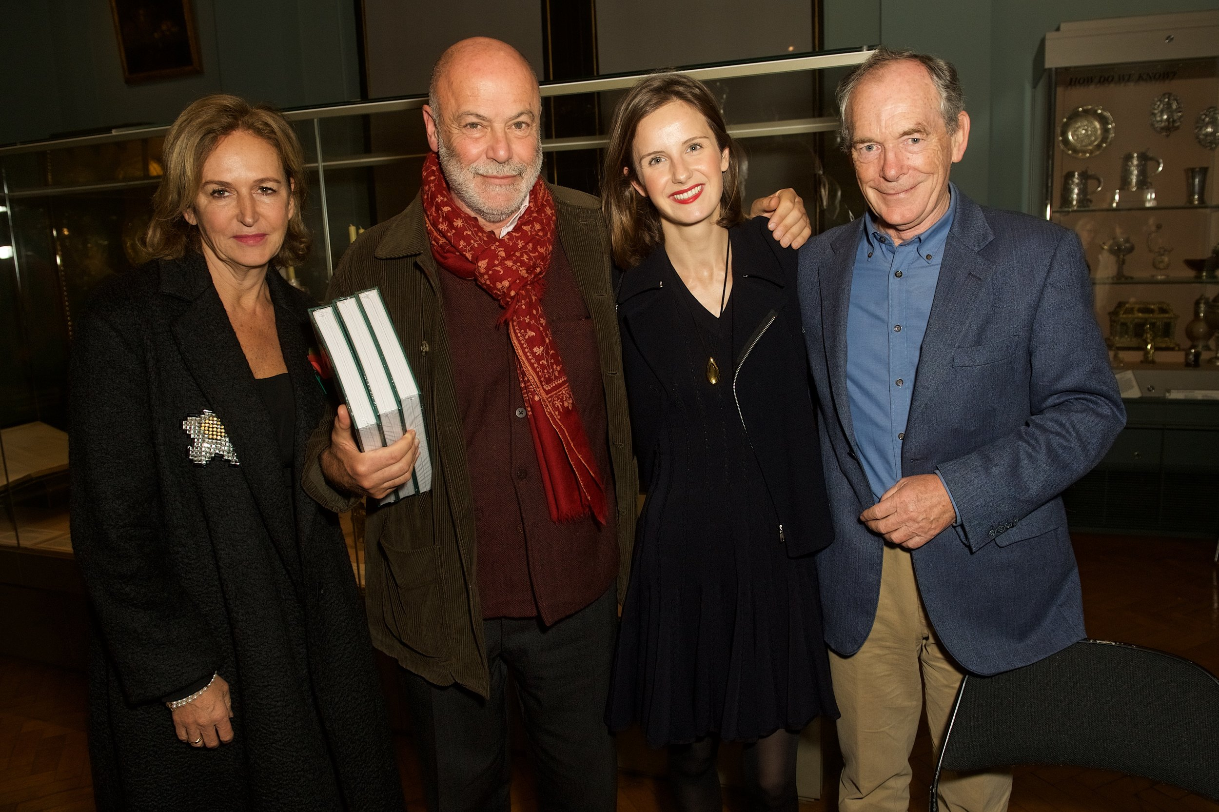 Caroline Michel, John Eskanazi, Sophie Walker and Simon Jenkins