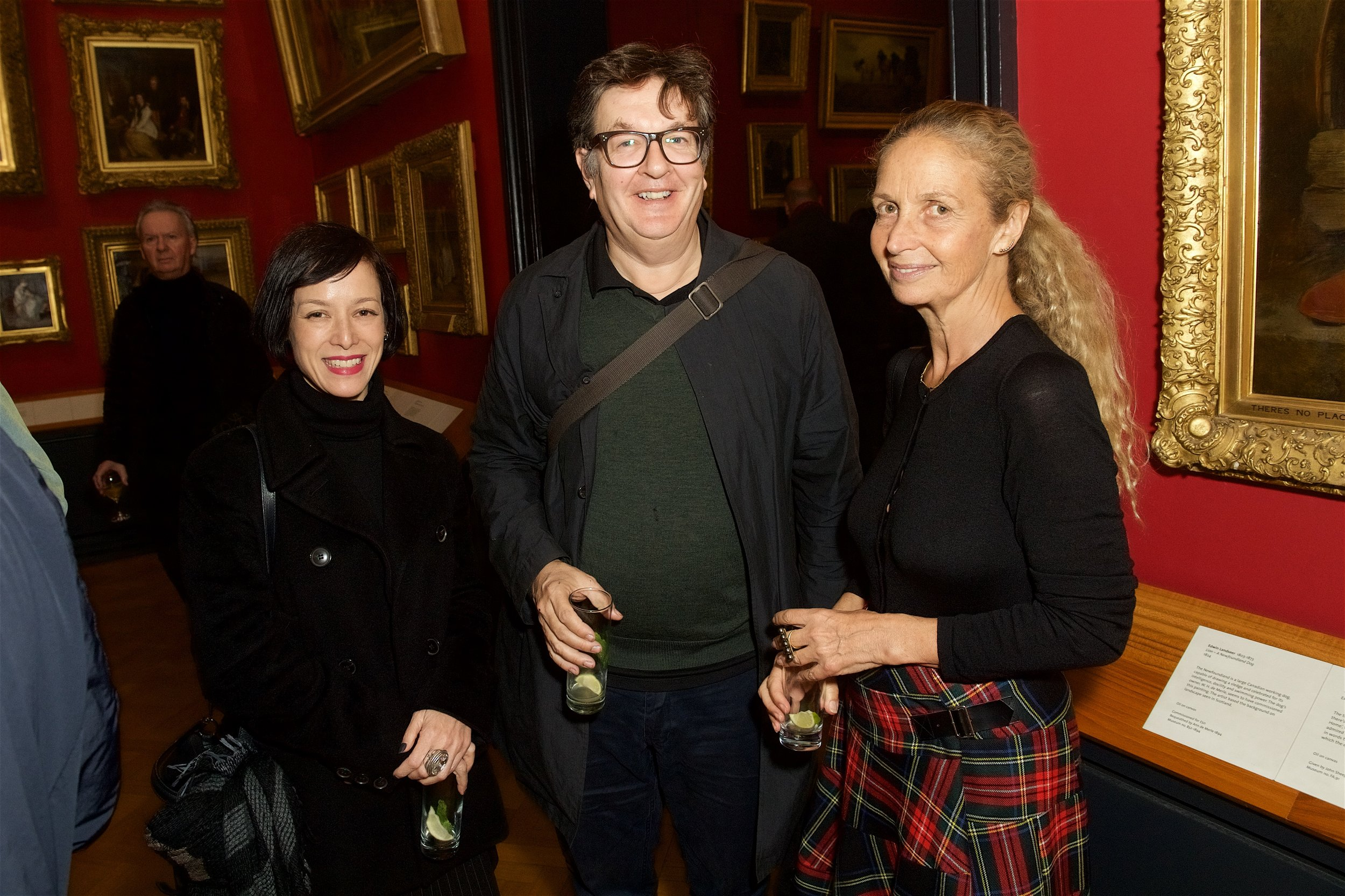 Laura Curry, Mark Wallinger and Evelyn Chipperfield