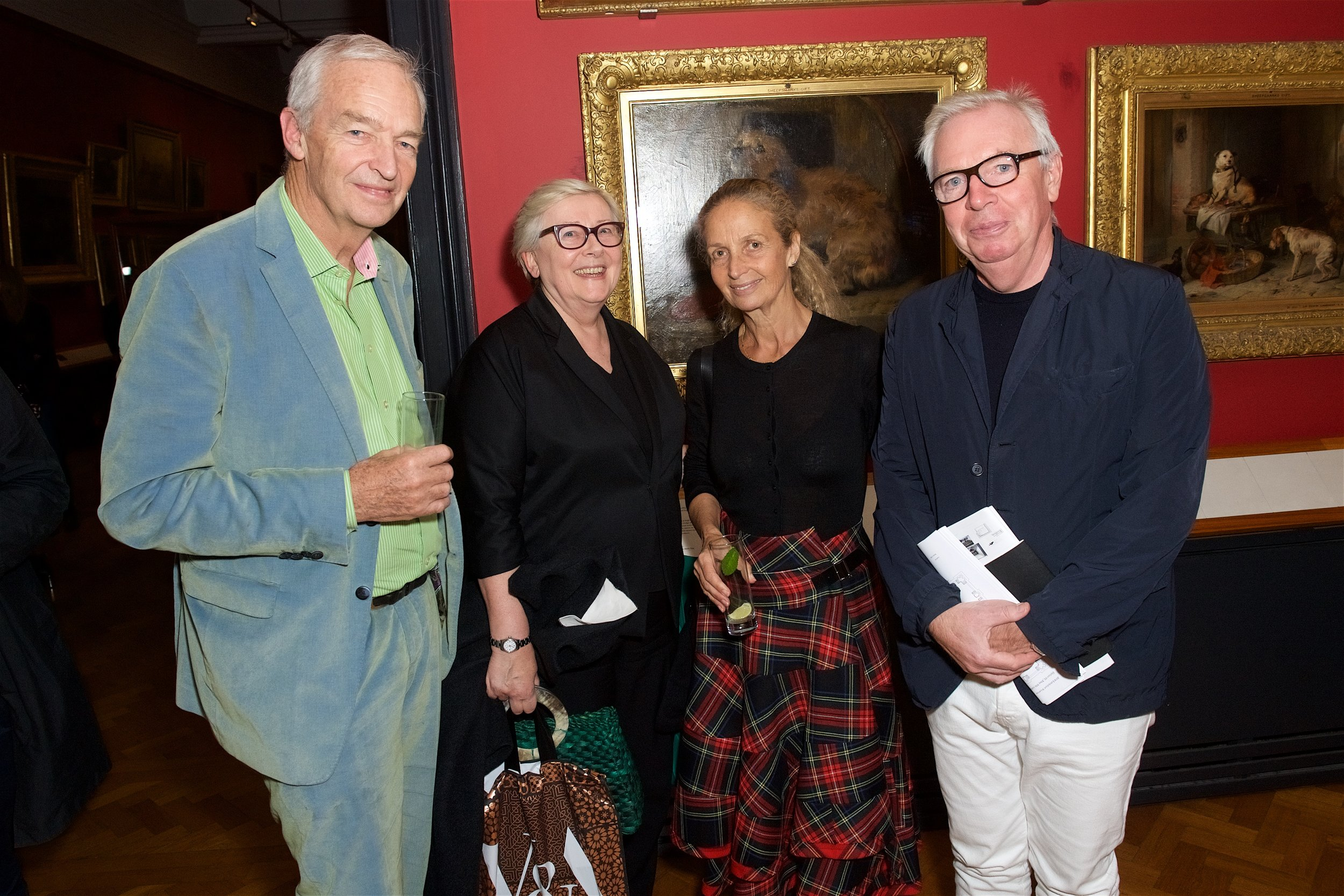 Jon Snow, Jane Quinn, Evelyn Stern and David Chipperfield