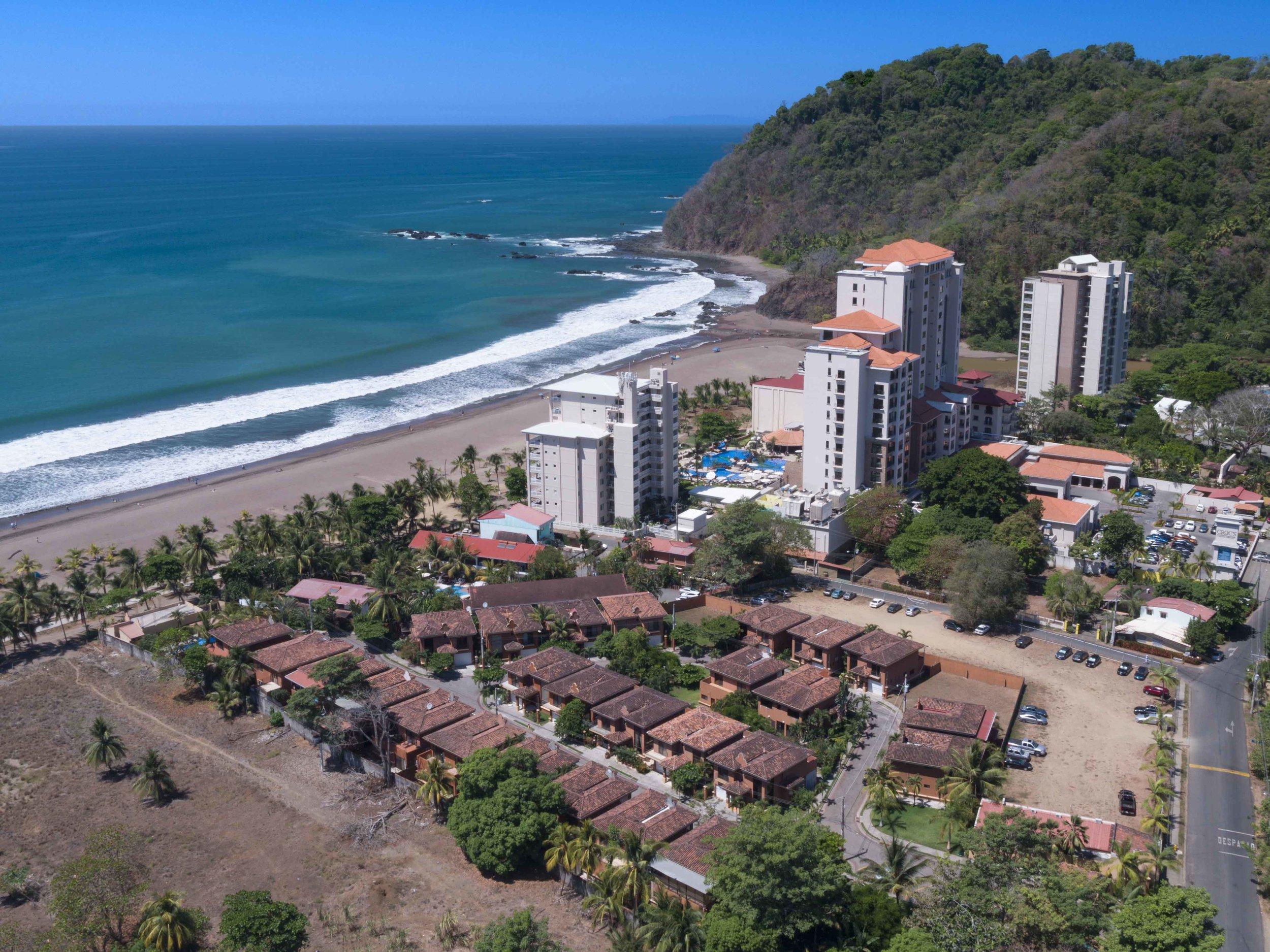 Jaco Costa Rica Villa Commercial Real Estate Drone