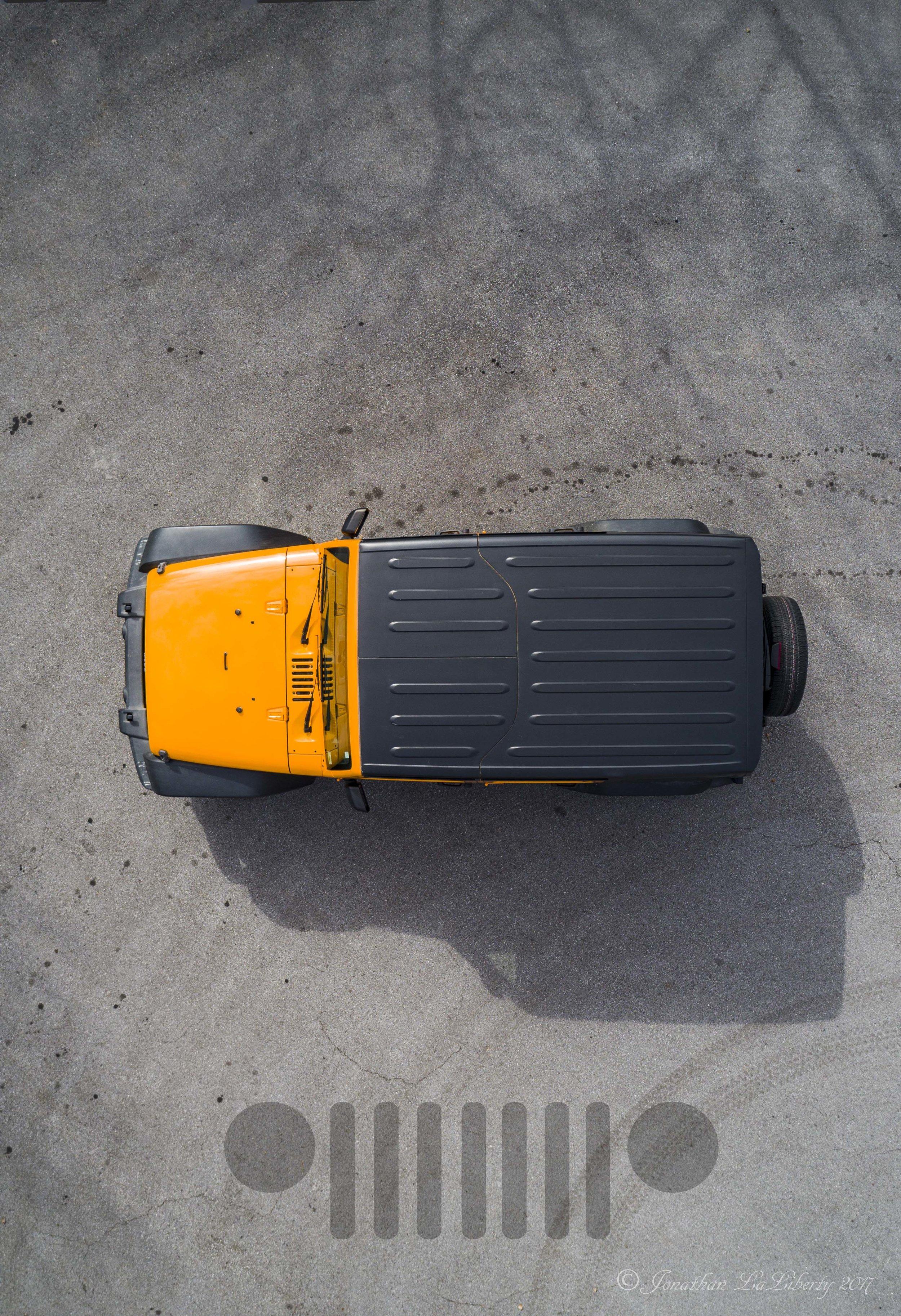 Jeep Wrangler Dozer Drone