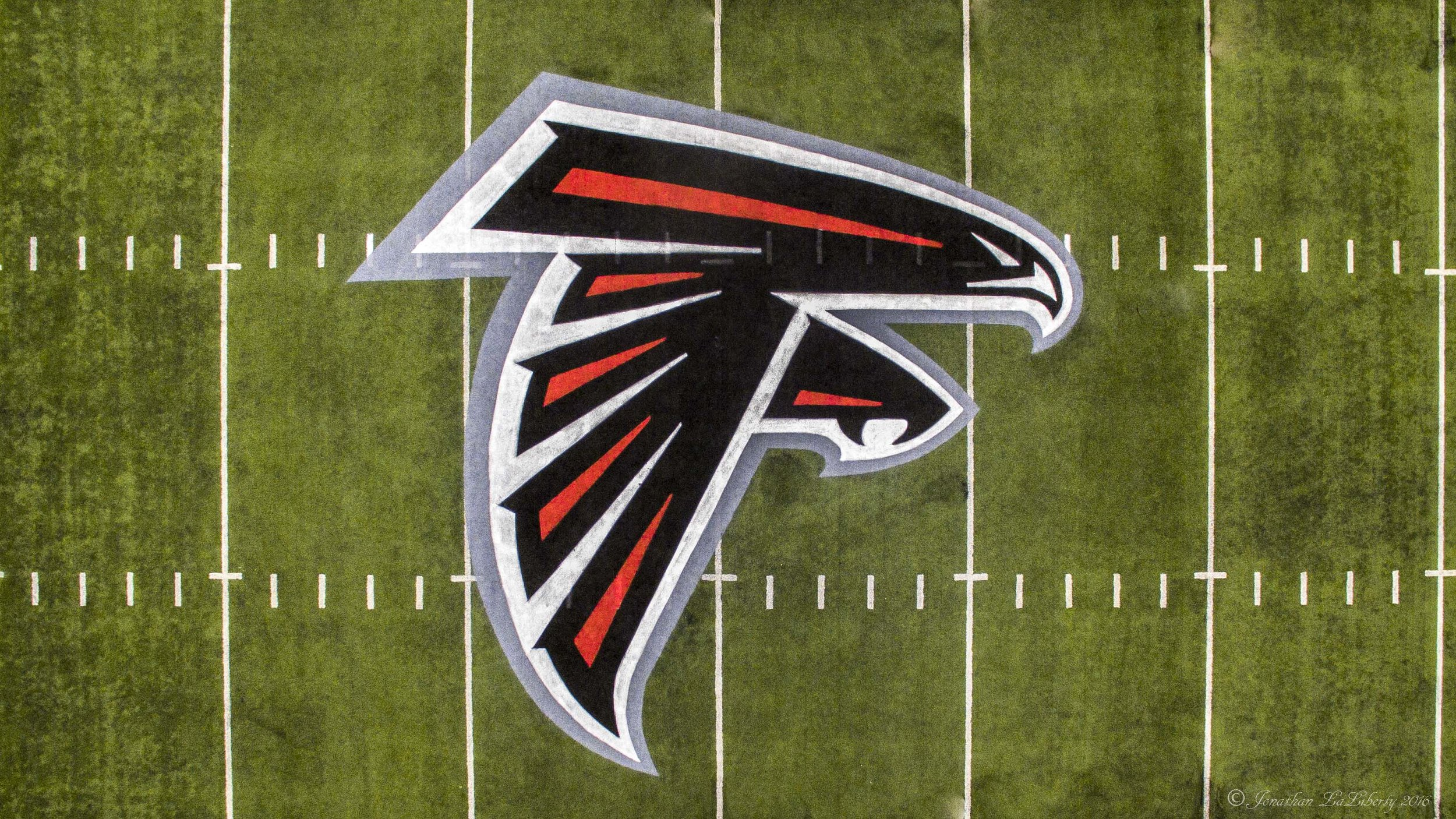 Atlanta Falcons Drone Photography