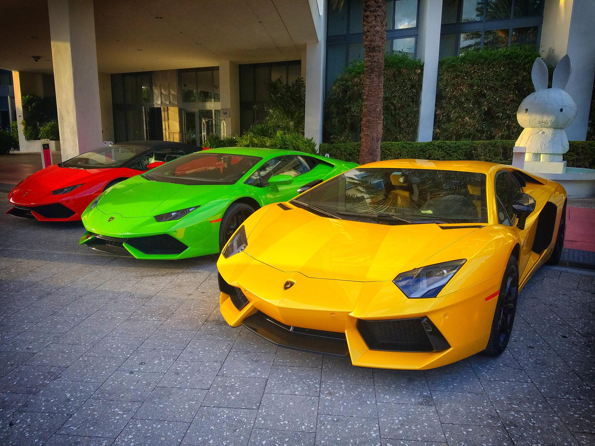 Lamborghini Huracan Drone Photography