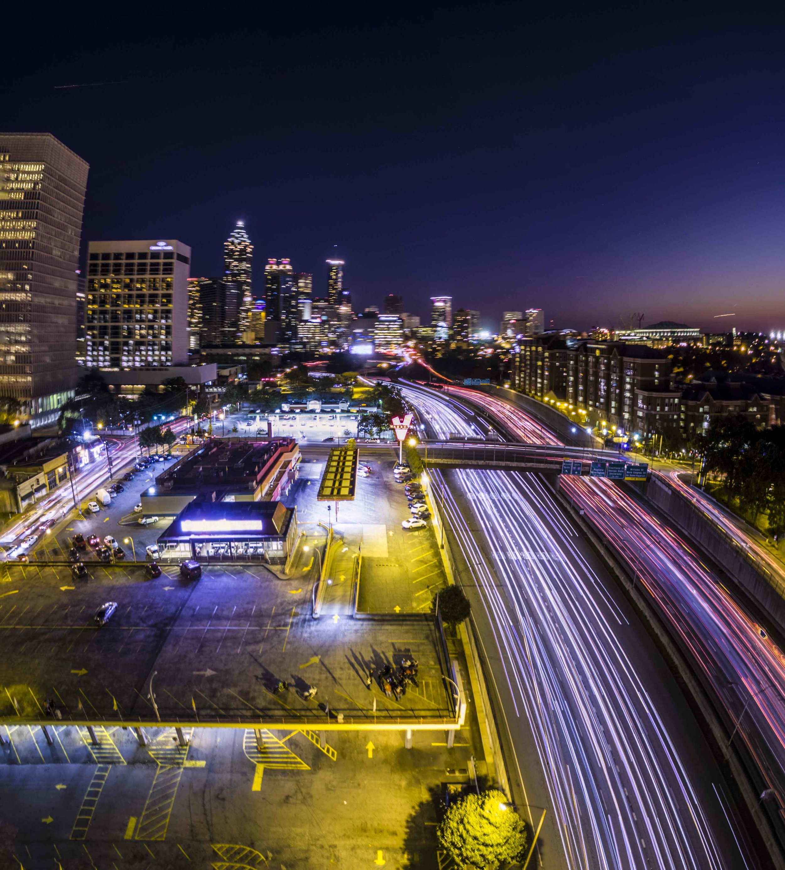 Atlanta Drone Photography Varsity