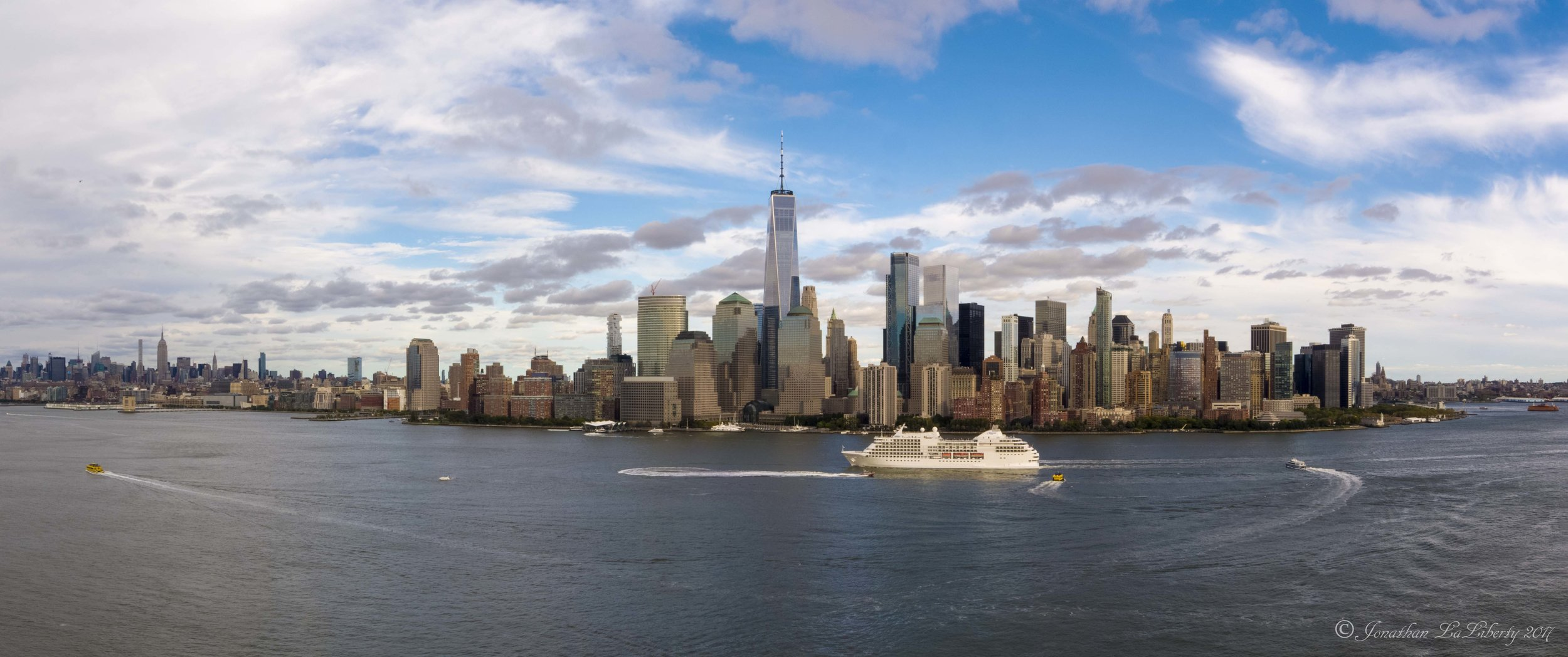 Manhattan Panoramic Drone Photography