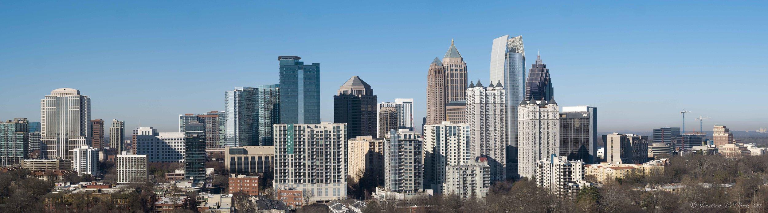 Midtown Atlanta Drone Photography Architecture