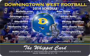 THE OFFICIAL 2014 WHIPPET DISCOUNT CARD.
