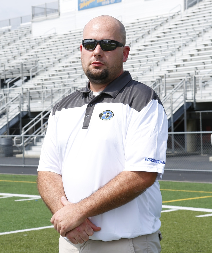 JIM CUNNINGHAM    Linebackers   Education: Penncrest High School.  Experience: Downingtown West High School 2011-present; Penncrest High School 12 yrs Asst 1999-2010;  Family: Wife: Stacy Resides in Media.