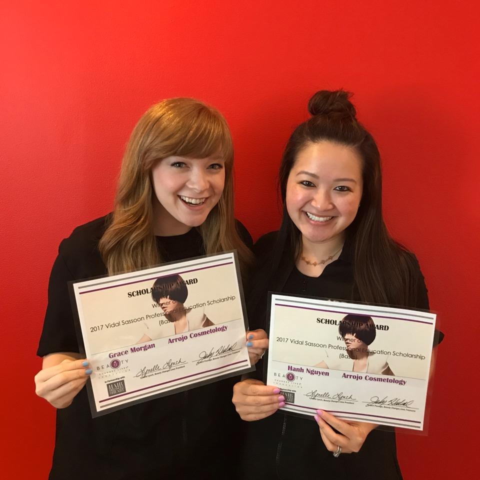 Grace Morgan &Hanh Nguyen Celebrate Their Scholarships