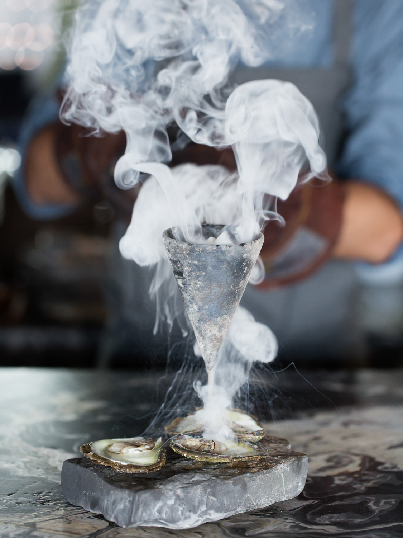 Flambadou Oysters - @Mürver Karakoy