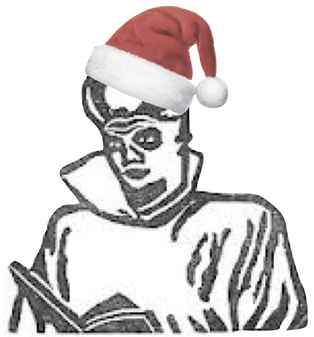 This is a Kanamit...in a Santa Hat