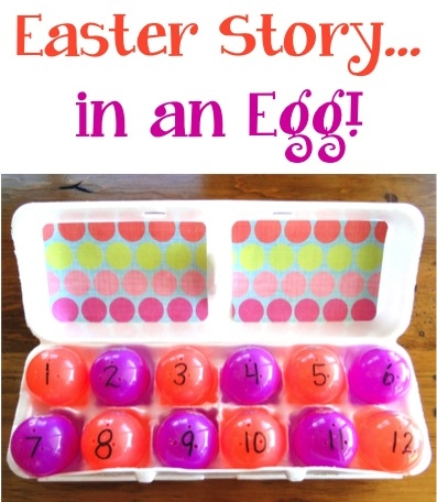 Click the image above to see how you can make your own Easter Story in an egg carton!