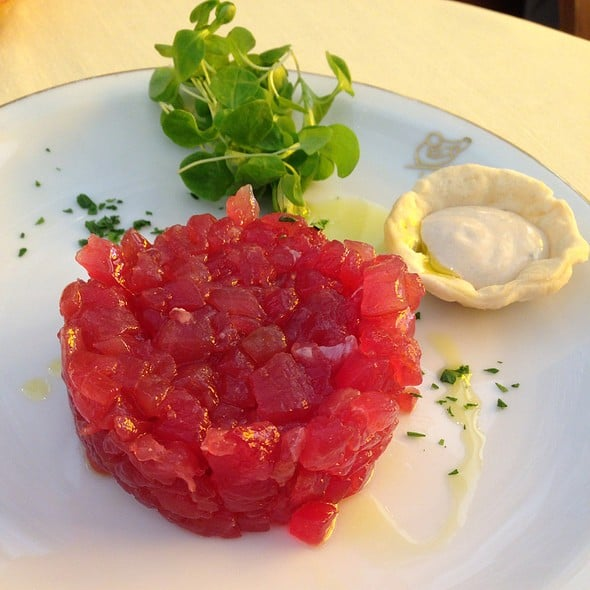 Cipriani's Tuna Tartar. One word. Amazing.