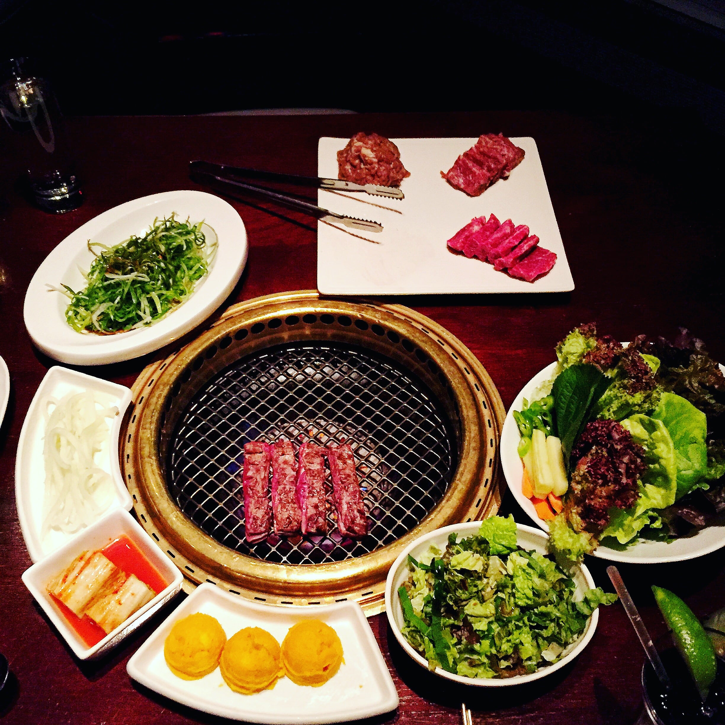 Now, THIS is Korean BBQ. :)