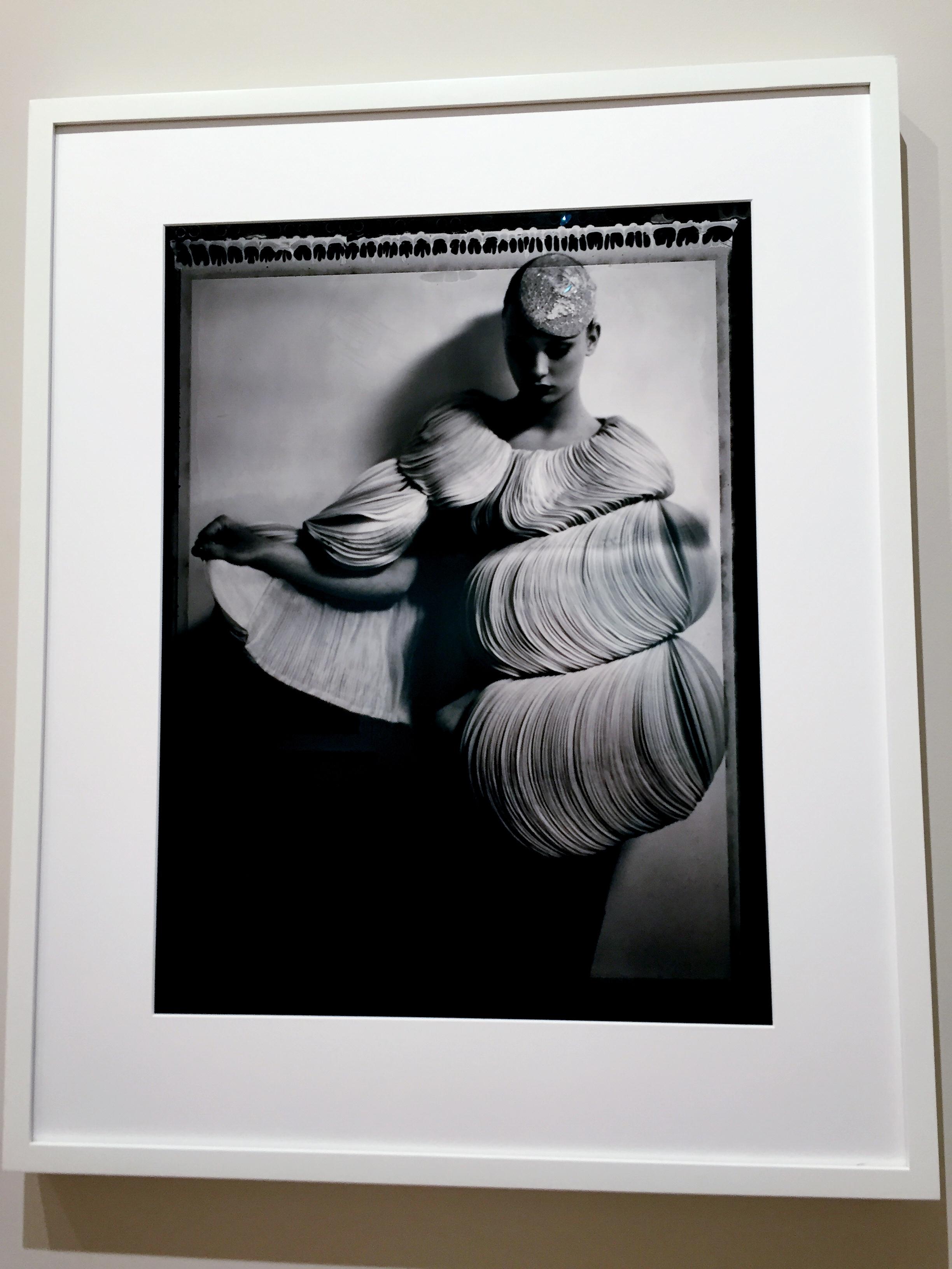 Cathleen Naundorf, Valentino en Rose, Valentino – Haute Couture Winter 2007 - N°59, 2007, Gelatin silver print, 24 x 20 inches (60 x 50 cm)