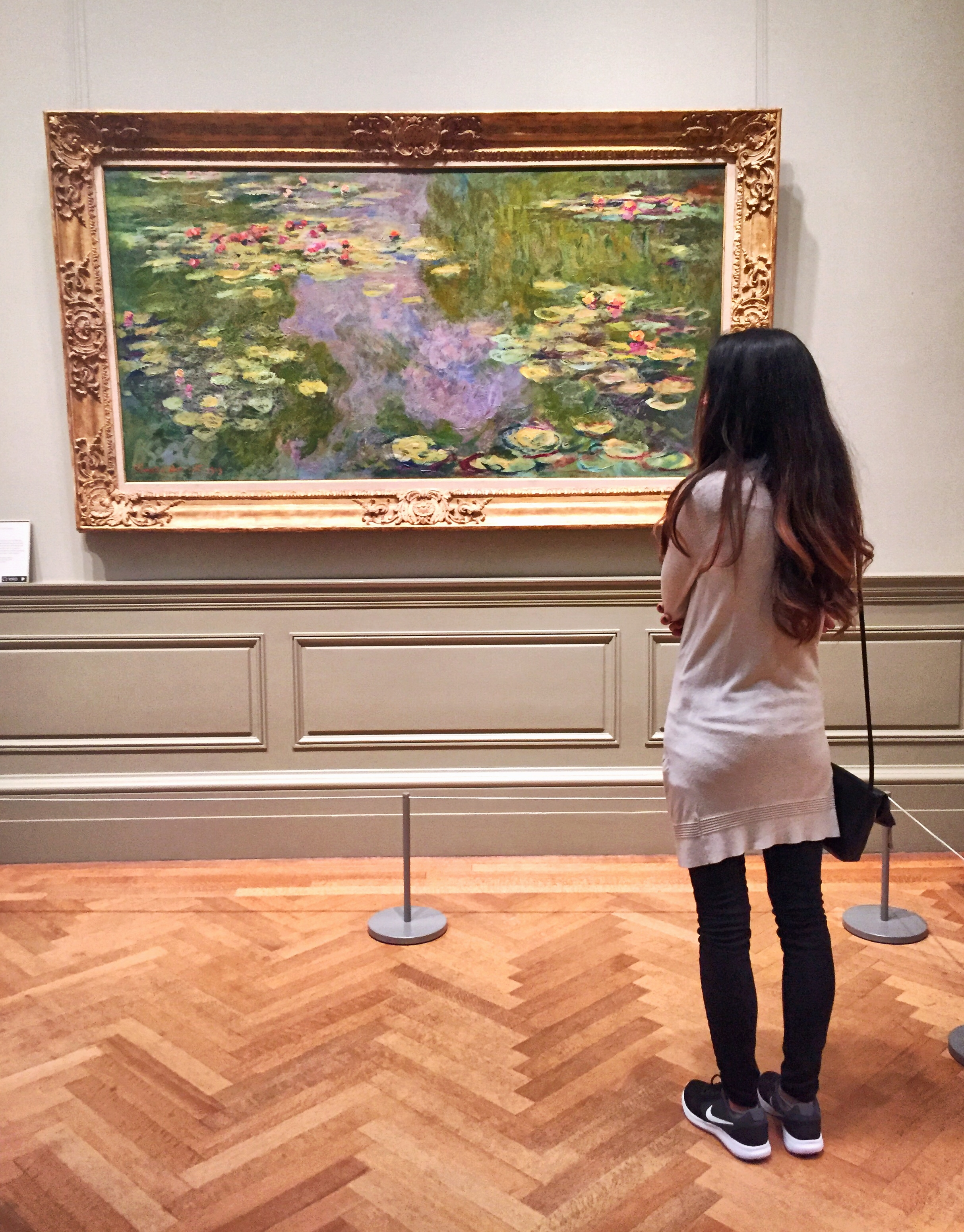 Water Lilies .  Claude Monet . (French, Paris 1840–1926 Giverny) 1919. Oil on canvas.