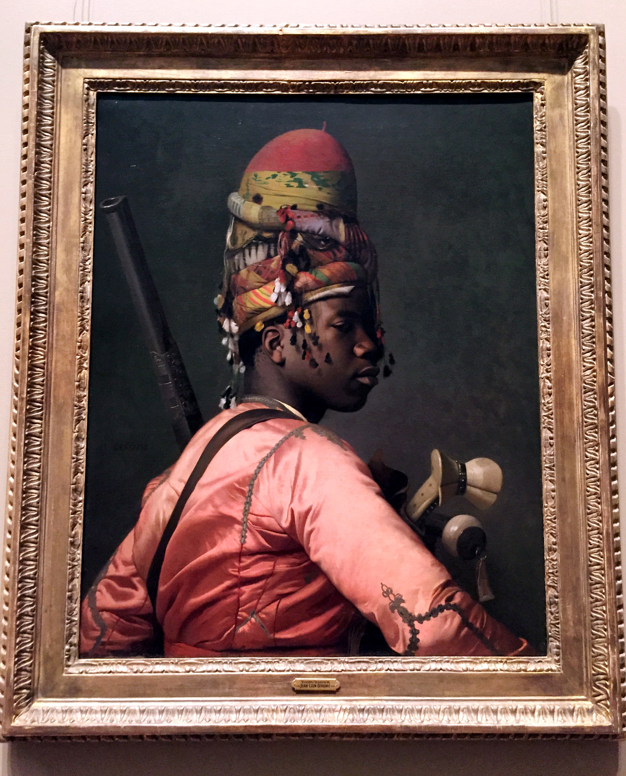 Bashi-Bazouk .  Jean-Léon Gerome . (French, Vesoul 1824–1904 Paris) 1868–69. Oil on canvas.
