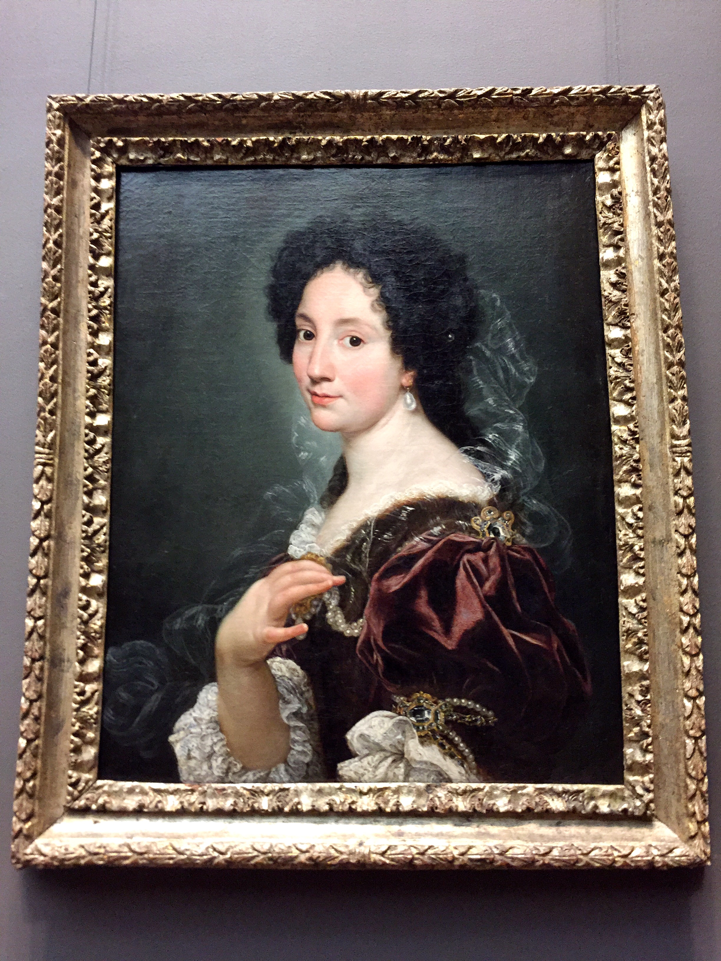 Portrait of a Woman .  Giovanni Battista Gaulli (Il Baciccio)  (Italian Genoa 1639-1709 Rome) ca. 1670s. Oil on canvas.